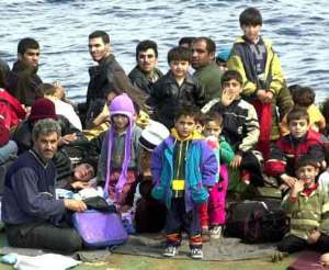 Clandestini a Lampedusa