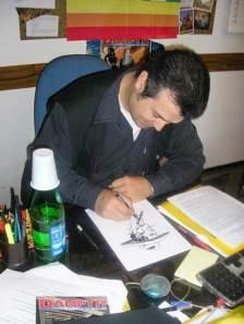 Claudio al lavoro