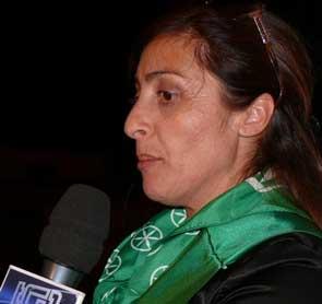 La senatrice Angela Maraventano vice sindaco di Lampedusa