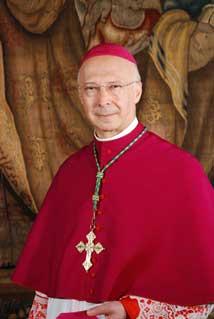 S. E. il Card. Angelo Bagnasco, Presidentte della Cei