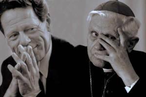 Hans Kung e il card. Ratzinger