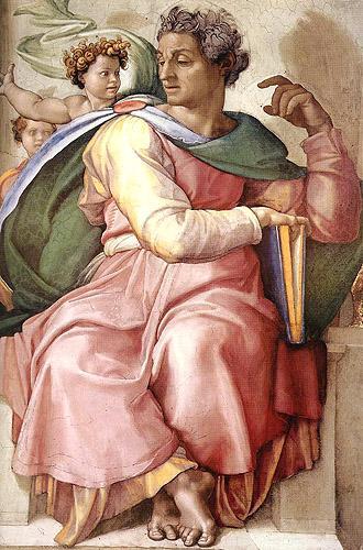 Il Profeta Isaia, 1510-1511 Volta della Cappella Sistina Vaticano, Roma