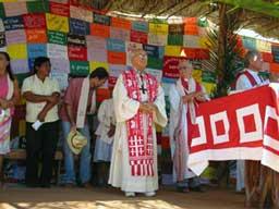 Dom Tomás alla Romaria dos Mártires do Araguaia (quadriennale) del 2006