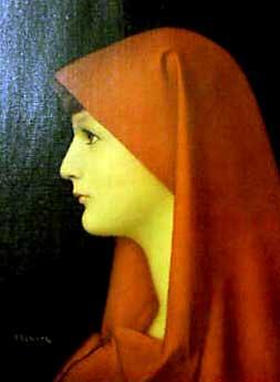 """Fabiola"" di Jean Jacques Henner"