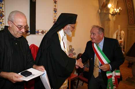 Mons. Alessandrini, Gregorio III, Sindaco