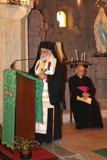 Gregorio III e Mons. Virginio Fogliazza
