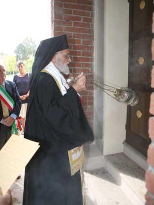 Gregorio III benedice Porta San Giorgio