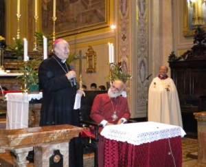 Mons Merisi e Gregorio III